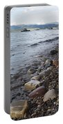Jackson Lake With Boats Portable Battery Charger