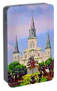 Jackson Square In The French Quarter Portable Battery Charger