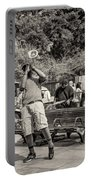 Jackson Square Jazz Sepia Portable Battery Charger