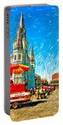 Jackson Square Painted Version Portable Battery Charger