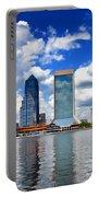 Jacksonville Skyline Portable Battery Charger