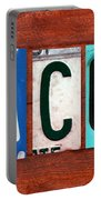 Jacob License Plate Name Sign Fun Kid Room Decor. Portable Battery Charger