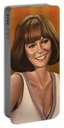 Jacqueline Bisset Painting Portable Battery Charger