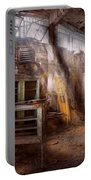 Jail - Eastern State Penitentiary - Sick Bay Portable Battery Charger by Mike Savad