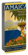 Jamaica The Gem Of The Tropics Portable Battery Charger