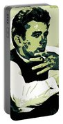 James Dean Poster Art Portable Battery Charger
