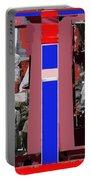 James Earl Jones Smoking Twice Collage The Great White Hope Set Globe Arizona 1969-2012 Portable Battery Charger