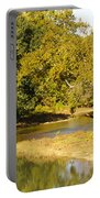 James River In The Fall Portable Battery Charger