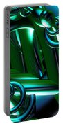 Jammer Blue Green Flux 001 Portable Battery Charger