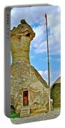 Jandarma Or Police Station In A Fairy Chimney In Cappadocia-turkey  Portable Battery Charger
