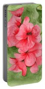 Jane's Flowers Portable Battery Charger