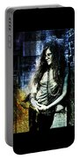 Janis Joplin - Blue Portable Battery Charger