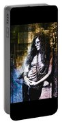 Janis Joplin - Gold Portable Battery Charger