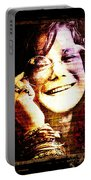 Janis Joplin - Upclose Portable Battery Charger