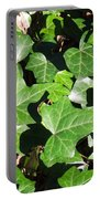 January Greenery Portable Battery Charger