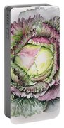 January King Cabbage  Portable Battery Charger