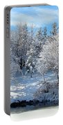 January Trees Portable Battery Charger