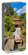 Japan In Pasadena - Beautiful View Of The Newly Renovated Japanese Garden In The Huntington Library. Portable Battery Charger