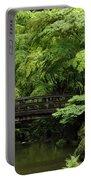 Japanes Garden Reverie Portland Oregon Portable Battery Charger