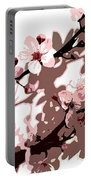 Japanese Blossom Portable Battery Charger by Sarah OToole