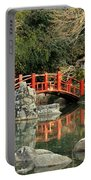 Japanese Bridge Over Water Portable Battery Charger