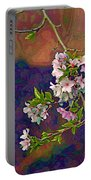Japanese Cherry Blossom Branch Portable Battery Charger