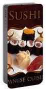 Japanese Cuisine Gallery Portable Battery Charger