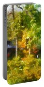 Japanese Garden Laura Bradley Park 02 Portable Battery Charger