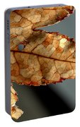 Japanese Maple Leaf Brown - 2 Portable Battery Charger
