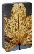 Japanese Maple Leaf Brown - 3 Portable Battery Charger