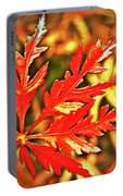 Japanese Maple Leaf  Portable Battery Charger