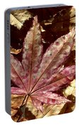 Japanese Maple Tree Leaves Portable Battery Charger