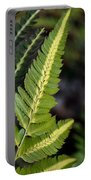 Japanese Painted Fern Portable Battery Charger