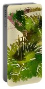 Japanese Washi Garden Reflections Portable Battery Charger