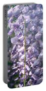Japanese Wisteria  By Zina Zinchik Portable Battery Charger