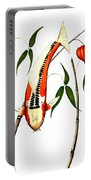 Japnese Koi Shuisui Chinese Lantern Painting Portable Battery Charger