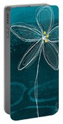 Jasmine Flower Portable Battery Charger by Linda Woods