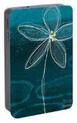 Jasmine Flower Portable Battery Charger