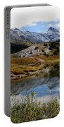 Jasper Banff National Park In Fall Portable Battery Charger