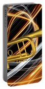 Jazz Art Trumpet Portable Battery Charger