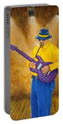 Jazz Guitar Man Portable Battery Charger