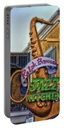 Jazz Kitchen Signage Downtown Disneyland Portable Battery Charger