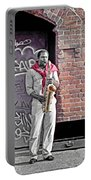 Jazz Man - Street Performer Portable Battery Charger