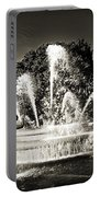 Jc Nichols Memorial Fountain Bw 1 Portable Battery Charger