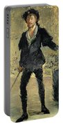 Jean Baptiste Faure In The Opera Hamlet By Ambroise Thomas Portable Battery Charger