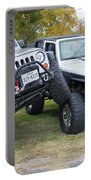 Jeeps In Juxtaposition Portable Battery Charger