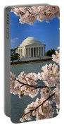 Jefferson Memorial Cherry Trees Portable Battery Charger