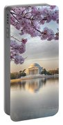 Jefferson Memorial In The Early Morning Portable Battery Charger