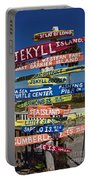 Jekyll Island Sign Portable Battery Charger