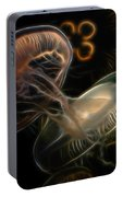 Jellyfish Digital Art Portable Battery Charger